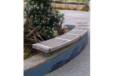 curved timber bench selector building architecture design and landscape products and news