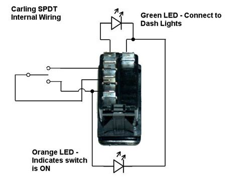 carling switches 12 technologies rocker switch wiring