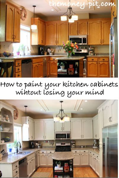 quick and easy way to paint kitchen cabinets diy home sweet home 20 ways to make you kitchen look amazing