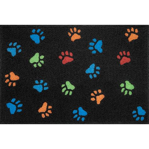 Paw Print Mat by Paw Print Rug Rugs Ideas