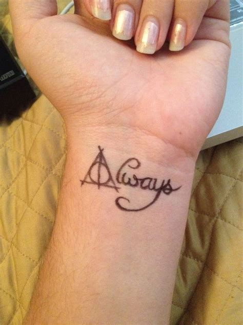 tattoo body hurt love this harry potter tattoo by la sirena deviantart com