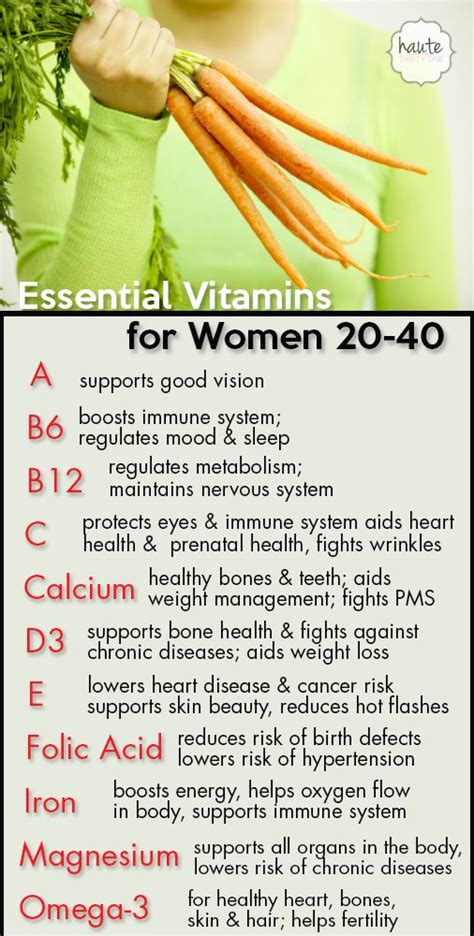8 Essential Vitamins For by Essential Vitamins For 20 40 Http