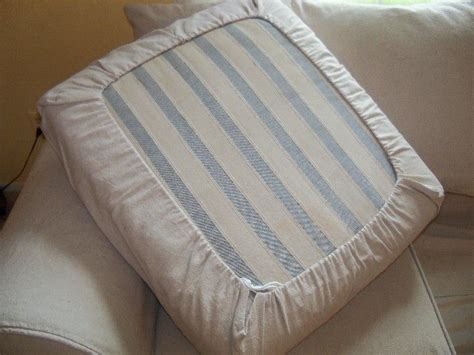 how to make a seat cushion for a bench easy diy drawstring seat cushion cover kovi