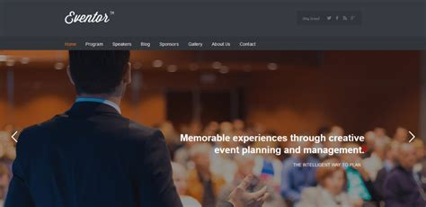 themeskingdom eventor 25 best events conference wordpress themes for 2017
