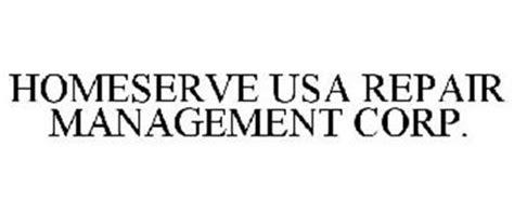homeserve usa repair management corp trademark of