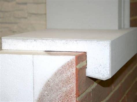 davanzali per cappotto termico davanzale termico davanzale wall system