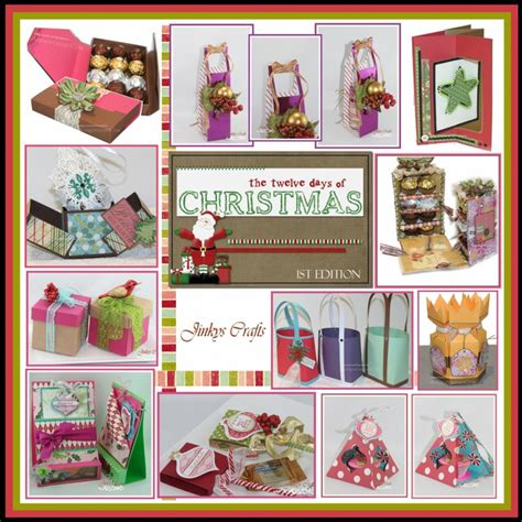 twelve days of christmas crafts 12 days of handmade gifts edition jinkys crafts