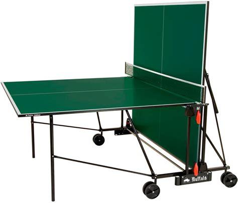 basic table tennis buffalo basic indoor table tennis table green shop