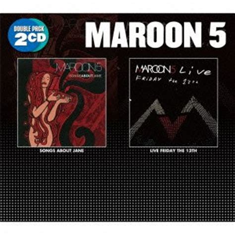 Cd Maroon 5 Songs About Import maroon 5 songs about live friday the 13th