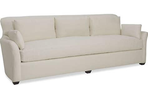 long white sofa 15 best ideas of one cushion sofas