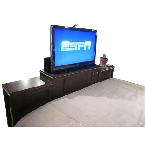 footboard tv lift digs decor