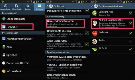 device manager android so funktioniert der android device manager zum orten oder l 246 schen eures ger 228 tes