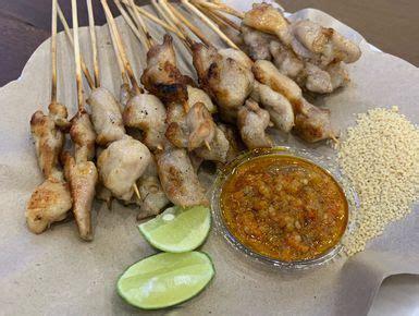 sate taichan bang maman sunter lengkap menu terbaru