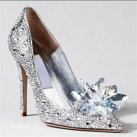 get cheap silver rhinestone heels aliexpress