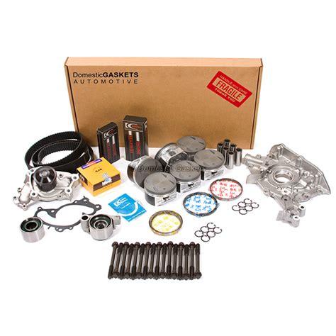 fits   toyota highlander lexus  master overhaul engine rebuild kit mzfe ebay