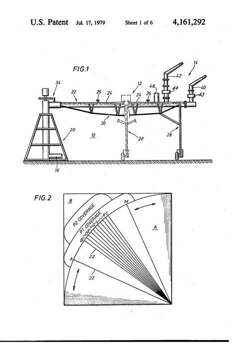 Patent US4161292 - Center pivot irrigation system having