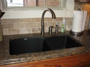 Kitchen Sink Countertop Simple Kitchen Sink Ideas 7376 Baytownkitchen