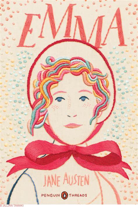 libro embroideries hola design jillian tamaki embroidered books covers