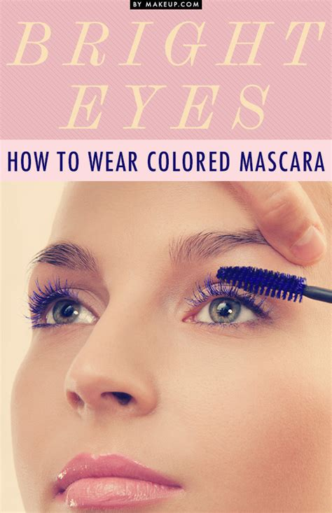 8 Eyecatching Coloured Mascaras by Colored Mascara For Brown Www Imgkid The
