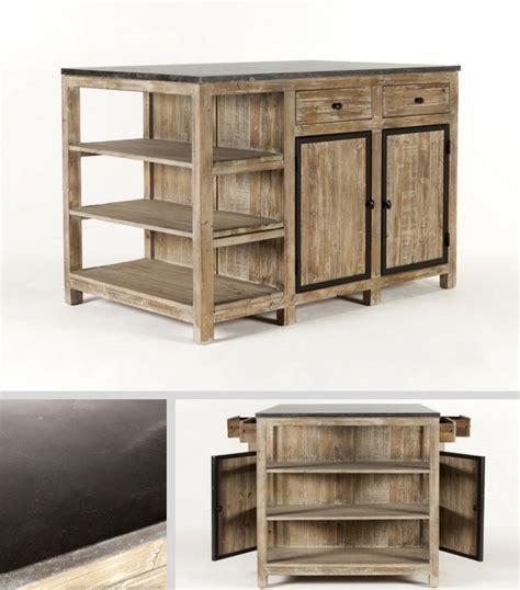 Charmant Ikea Ilot Central Cuisine #8: ilot-central-bois-marbre.jpg