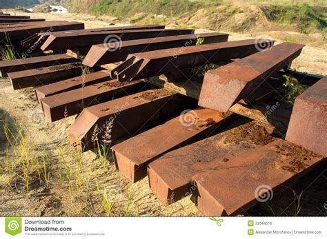 Metal Sleepers by Metal Sleepers Royalty Free Stock Image Image 32044516