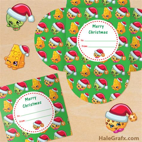 How To Get Free Gift Cards For Christmas - free printable christmas shopkins gift card holder