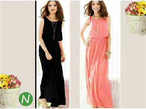 Jual Dress Murah Terbaru Dress Murah Davira Maxy Pr001 baju maxi dress cantik model terbaru murah