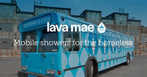 Mobile Showers For The Homeless by Lava Mae