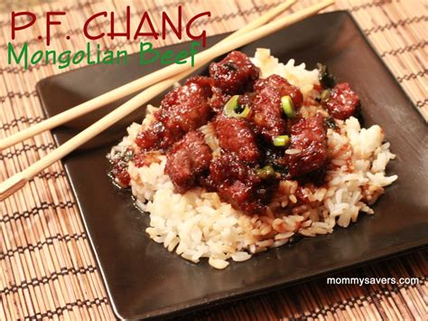Pf Changs Gardens by Copycat Recipe P F Chang Mongolian Beef Mommysavers