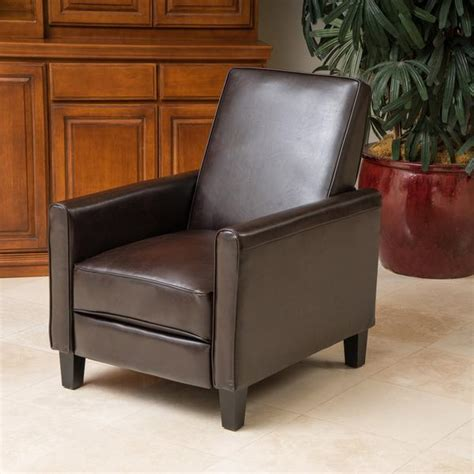 Lucas Leather Recliner Chair ? GDF Studio