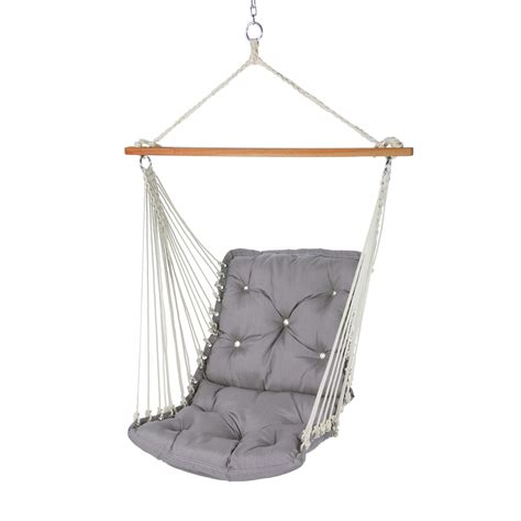 single hammock swing spectrum dove tufted single porch swing