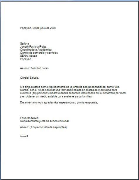carta de retiro junta de accion comunal redaccion y ortografia solicitud a la coordinadora academica
