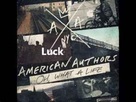Cd American Authors Oh What A oh what a american authors album