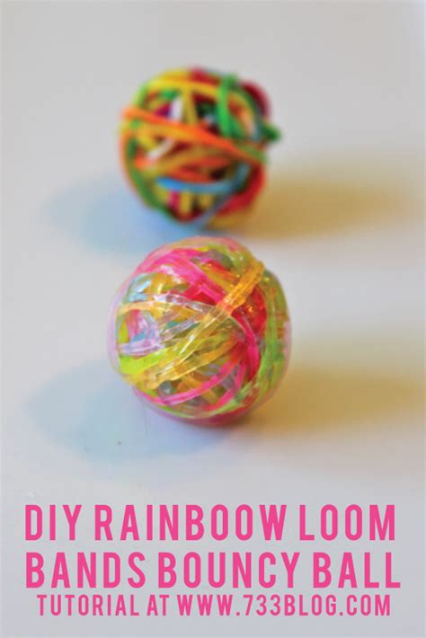 Rainbow Loom Band DIY Bouncy Ball   Inspiration Made Simple