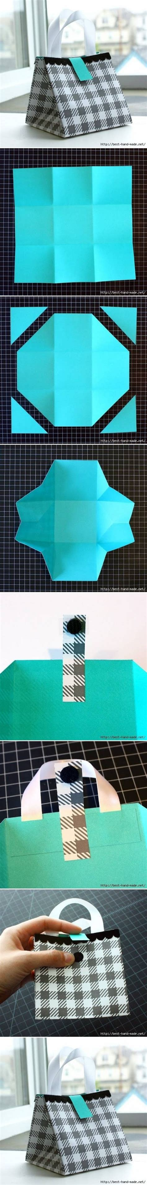 how to make paper gift bag step by step diy tutorial how to