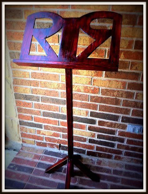 Ana White   Music Stand for RoRo   DIY Projects