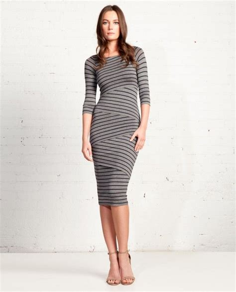 997 Stripped Dress Import signature striped column dress my style pinboard