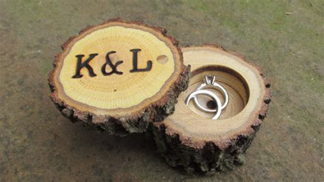 Wedding Ring Kl by Rustic Wedding Ring Boxes Wood Ring Boxes Wooden Ring