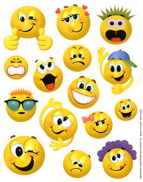 Emoticon Sticker emoticons theme school stickers eureka school