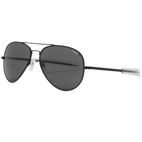new randolph engineering 57mm aviator sunglasses glass