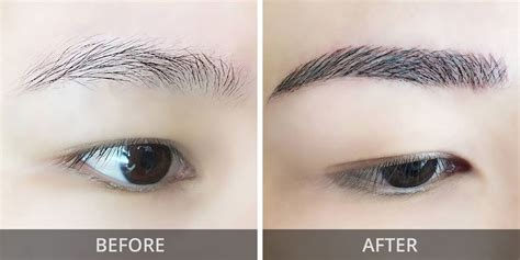 korean feng shui eyebrow embroidery singapore