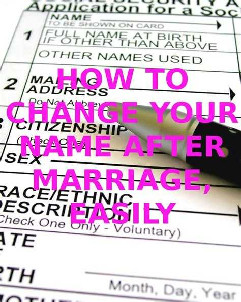 Wedding Name Change by 1000 Ideas About Name Change Checklist On