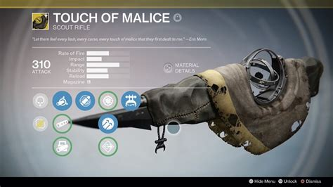 Touch Of destiny the taken king how to get the touch of malice