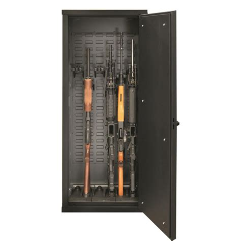 Tactical Gun Cabinet by Secureit Tactical Model 52 Gun Cabinet Holds 6 Rifles With