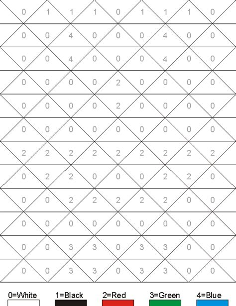 coloring pages hidden numbers hidden pictures worksheet clown color by numbers