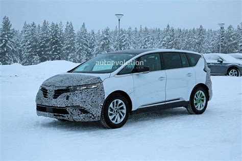 Renault Espace 2020 by 2020 Renault Espace Facelift Spied After Its New Engines