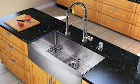 Choosing Kitchen Sink 5 Tips For Choosing The Right Size Kitchen Sink Overstock