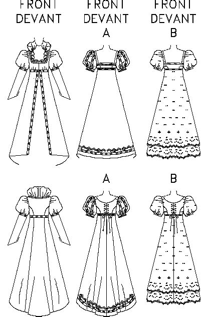 historical pattern review butterick 6630 making history