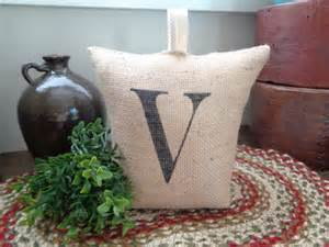 country rustic doorstops rustic burlap personalized door stop country farmhouse door