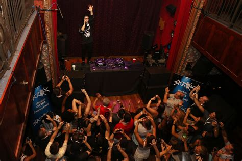 slipper room skrillex photos photos skrillex performs concert for siriusxm listeners at the slipper